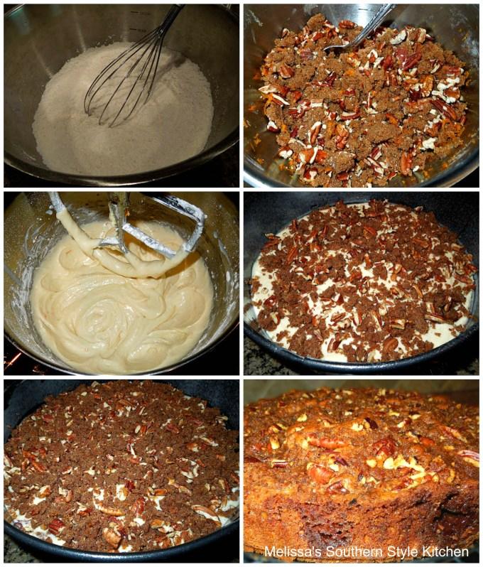 Cinnamon Pecan Filled Coffee Cake