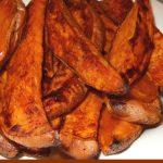 Roasted Honey-Chipotle Sweet Potato Wedges