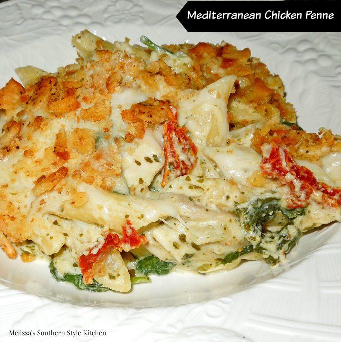 Mediterranean Chicken Penne
