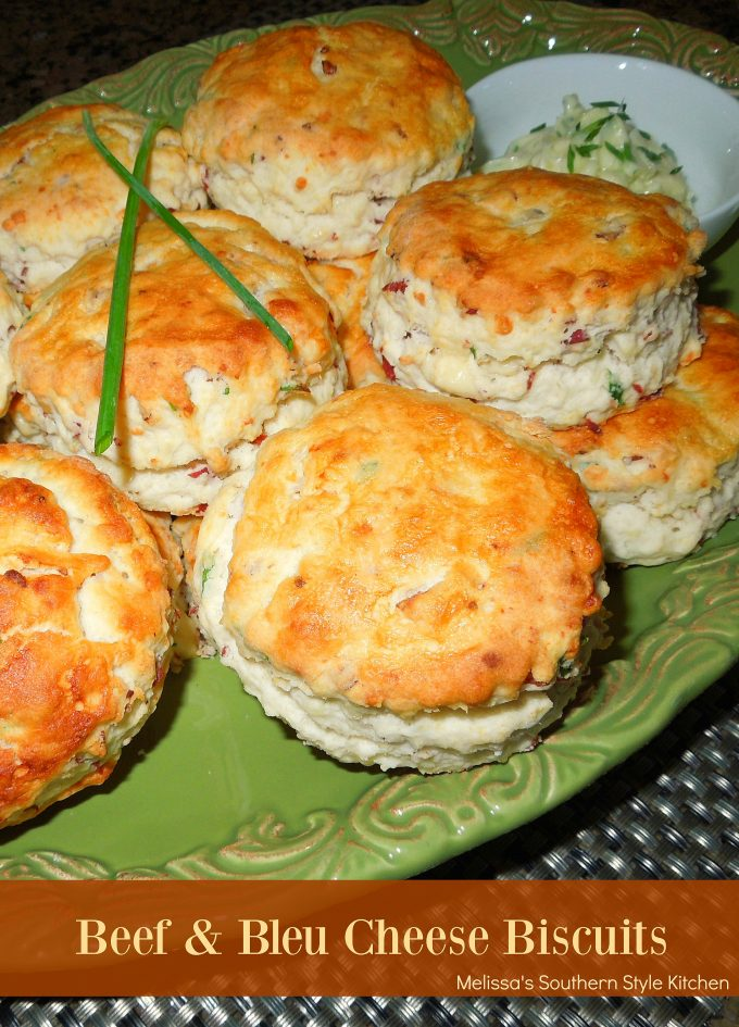 Beef And Bleu Cheese Biscuits