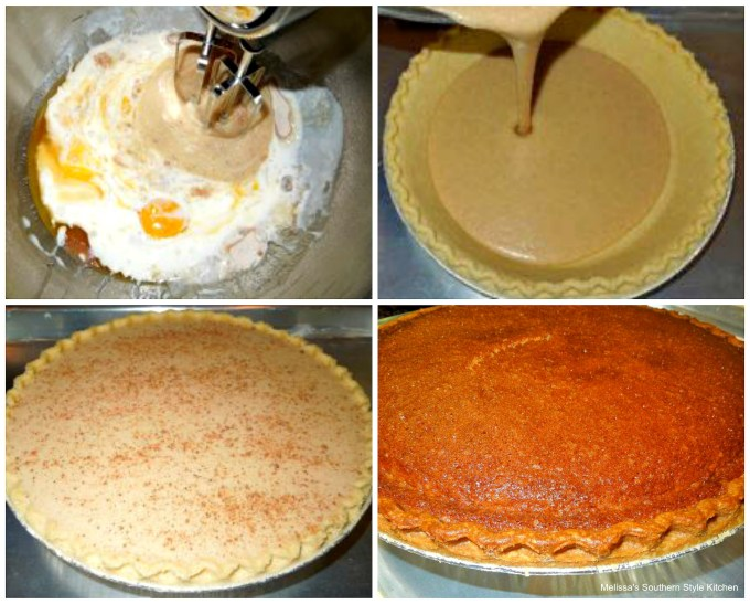 step-by-step images how to prepare buttermilk pie