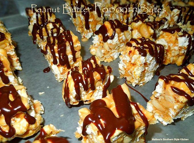Peanut Butter Popcorn Bytes