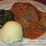 Salisbury Steak with Onion And Mushroom Gravy