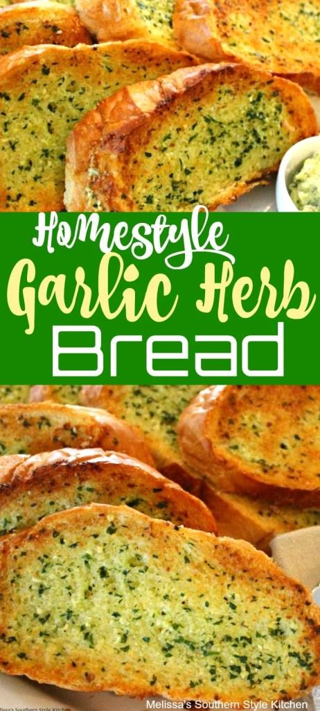 Homestyle Garlic Herb Bread