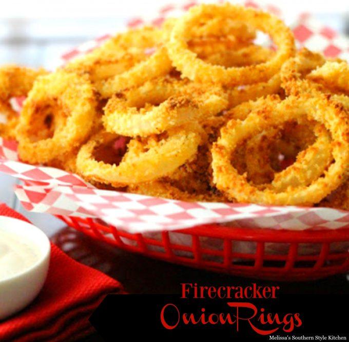 Firecracker Onion Rings