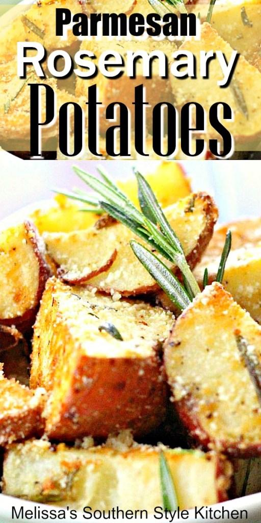 Parmesan Rosemary Roasted Potatoes