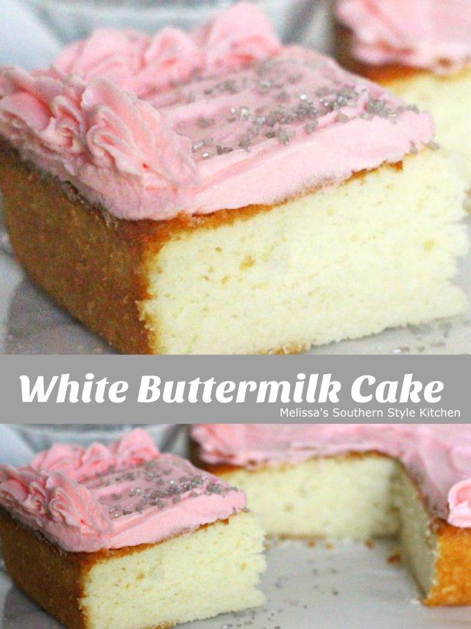 White Buttermilk Cake