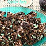 Mint Chocolate Cookie Bark