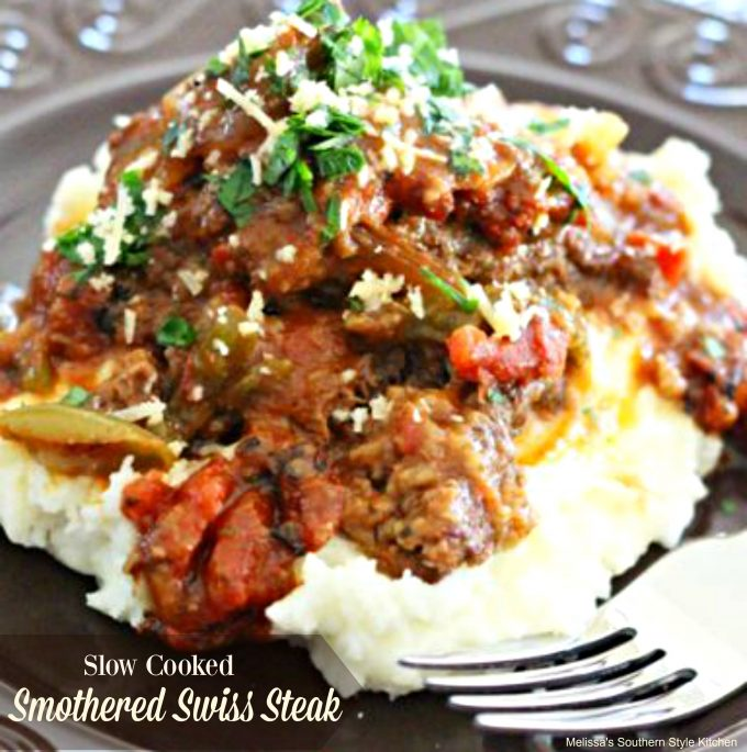 Slow Cooked Smothered Swiss Steak
