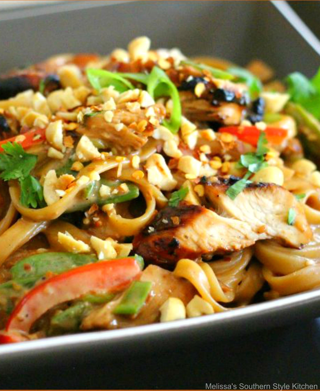 Asian Sesame Chicken Pasta Melissassouthernstylekitchen Com