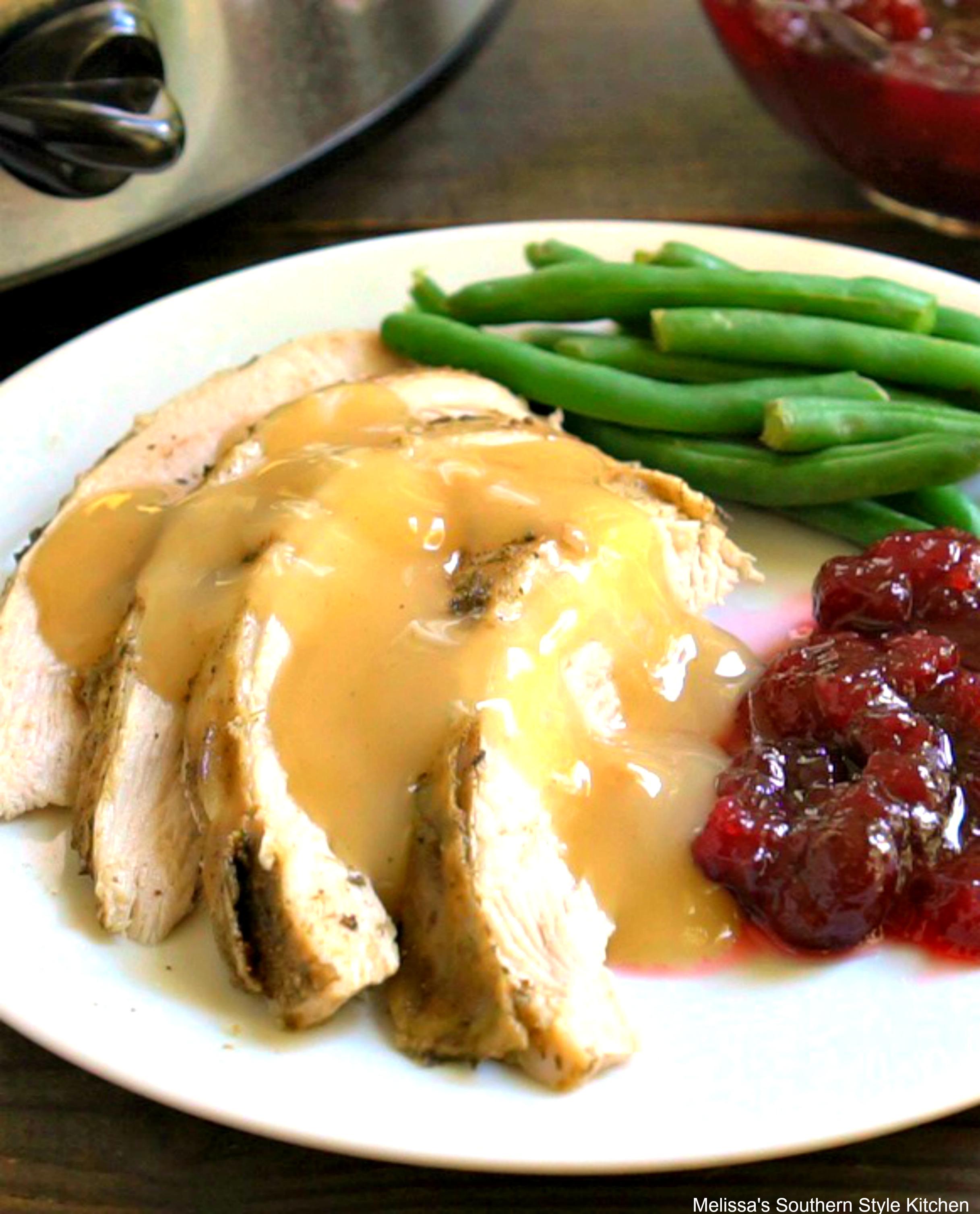 Slow Cooked Turkey Breast - melissassouthernstylekitchen.com