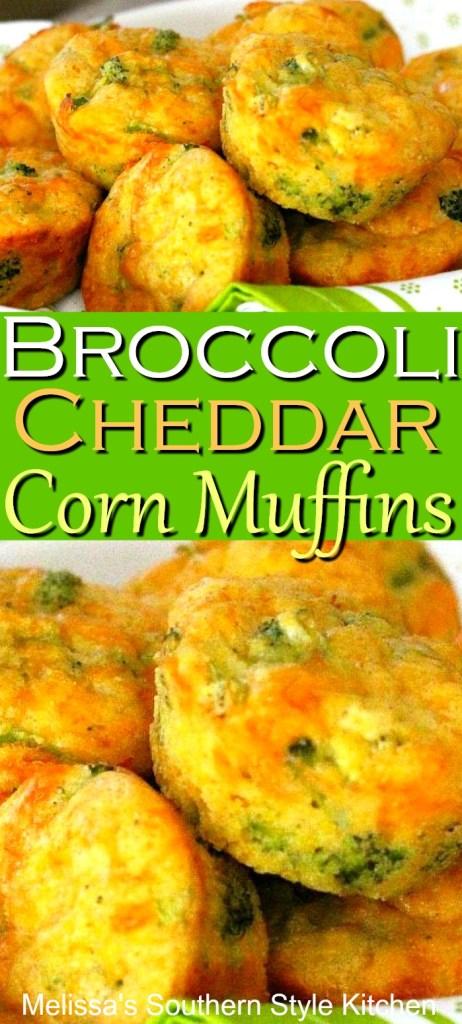 Broccoli Cheddar Corn Muffins