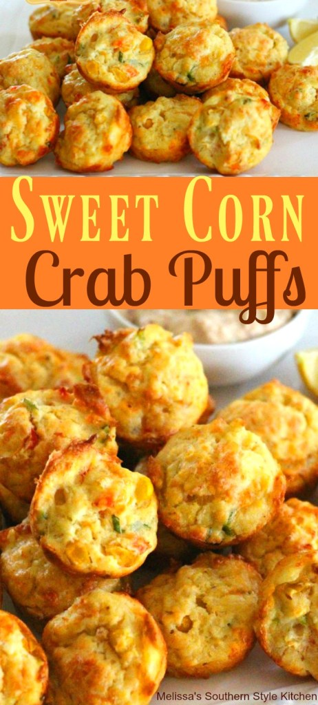 Sweet Corn Crab Puffs
