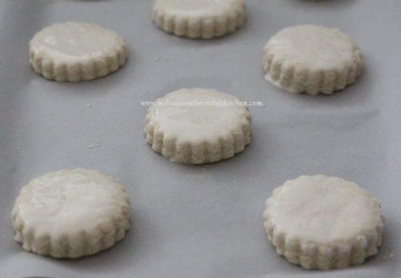 Ham Stuffed Cream Biscuits With Honey Dijon Butter