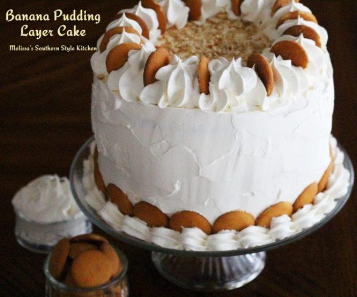 Banana Pudding Layer Cake