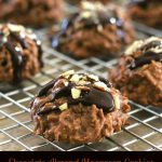 Chocolate-Almond Macaroon Cookies