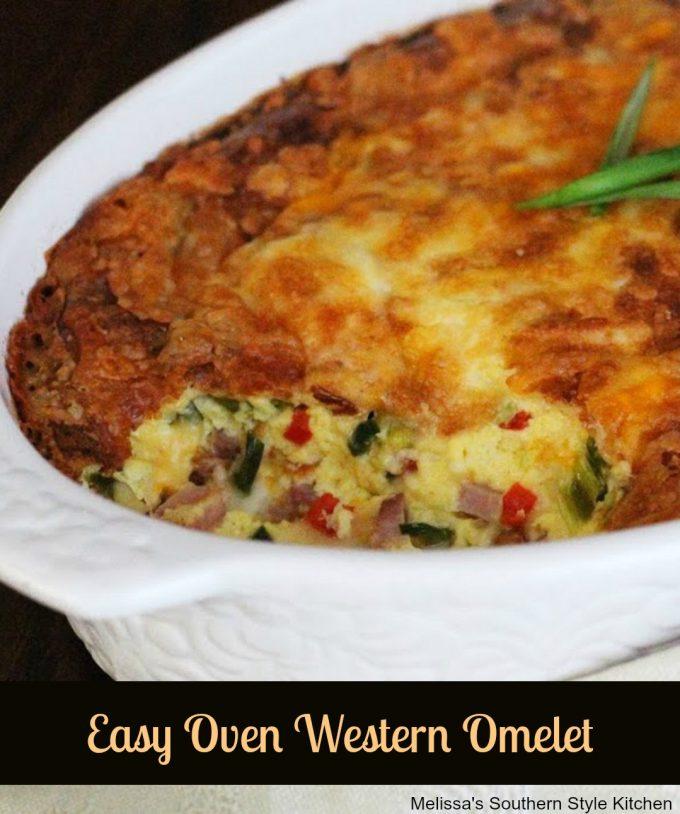 Easy Oven Western Omelet