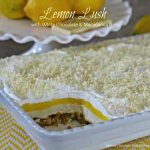 Lemon Lush With White Chocolate And Macadamia Nuts