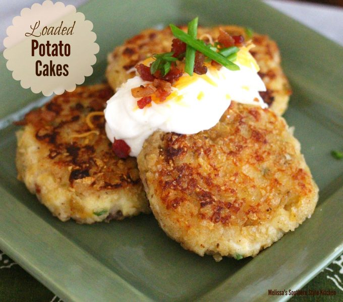Loaded Potato Cakes