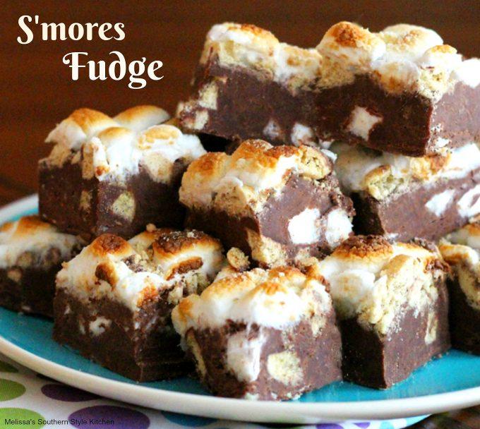 S'mores Fudge