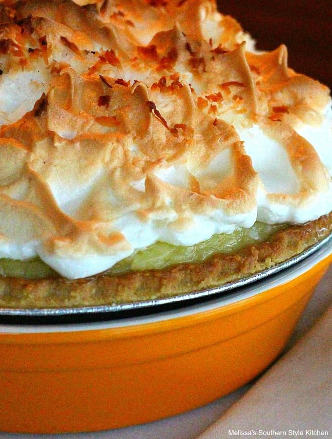 Baked Coconut Cream Pie