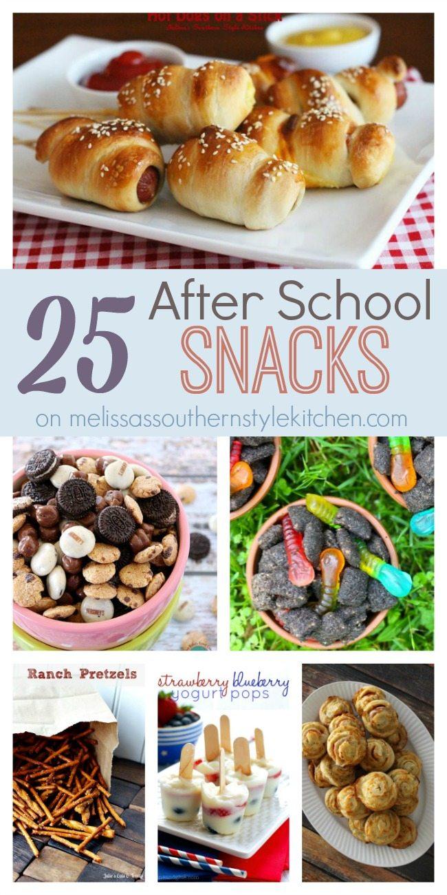 25 After School Snacks