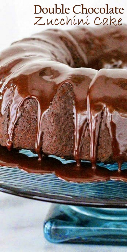 Double Chocolate Zucchini Cake