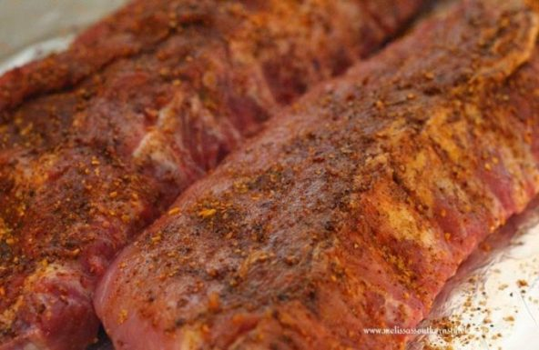 Slow Cooked Dr Pepper Baby Back Ribs