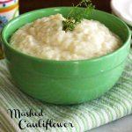 Mashed Cauliflower