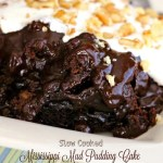 Slow Cooked Mississippi Mud Pudding Cake