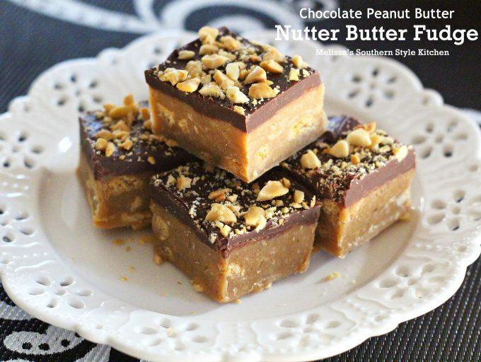 Chocolate Peanut Butter Nutter Butter Fudge