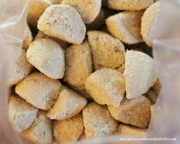 Italian Sausage Asiago Bubble Bread
