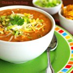 Tex Mex Chicken Taco Soup