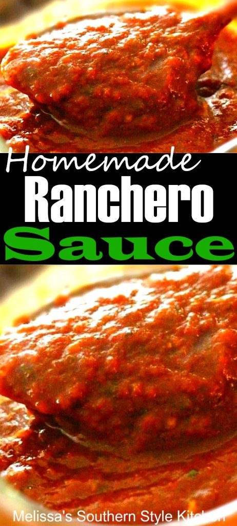 Homemade Ranchero Sauce