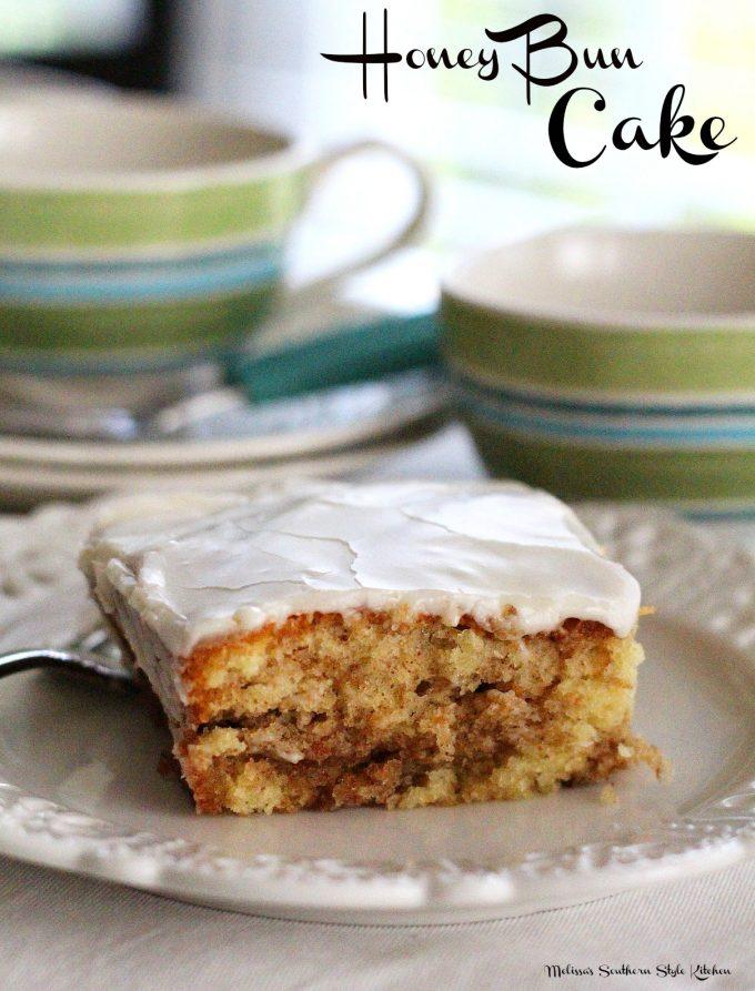 Honey Bun Cake