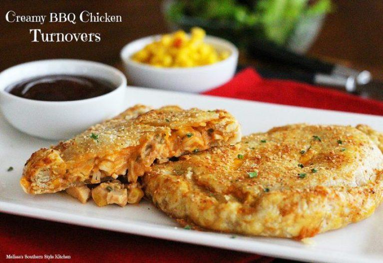 Creamy Barbecue Chicken Turnovers