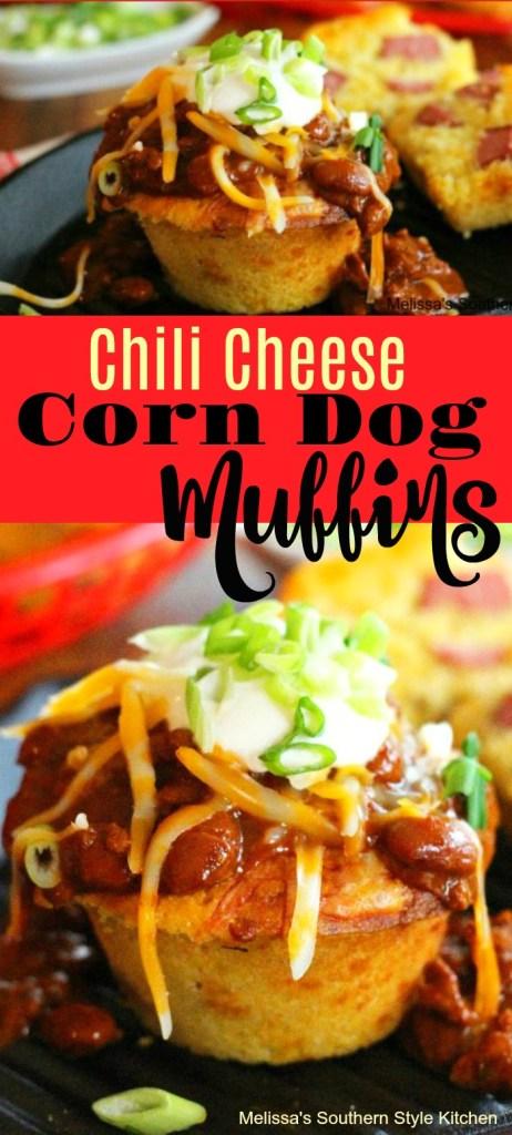 Chili Cheese Corn Dog Muffins