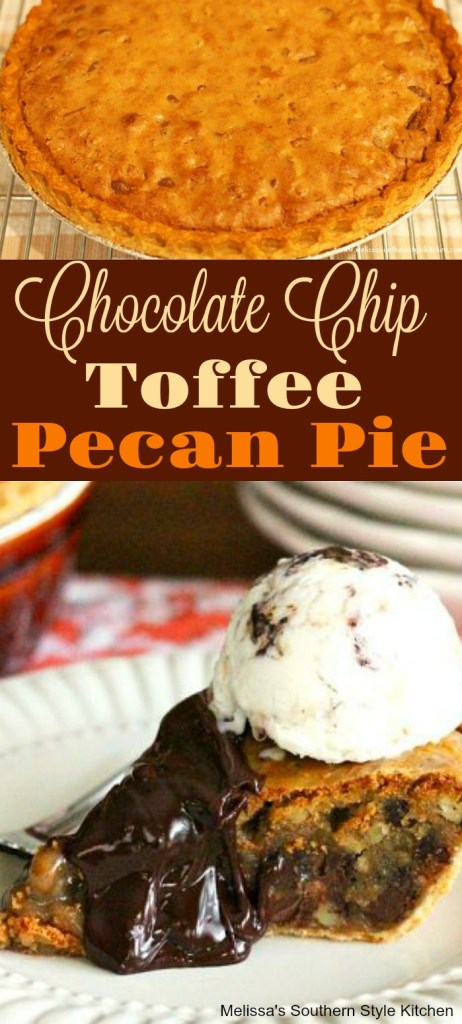 Chocolate Chip Toffee Pecan Pie