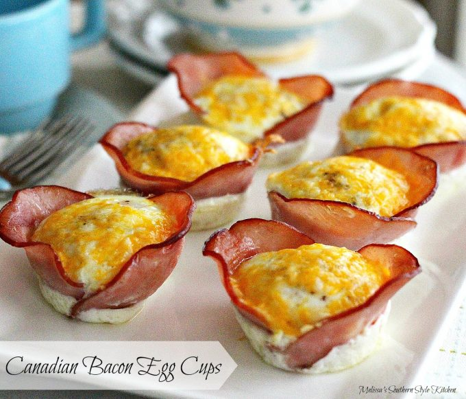 Canadian Bacon Egg Cups Melissassouthernstylekitchen Com