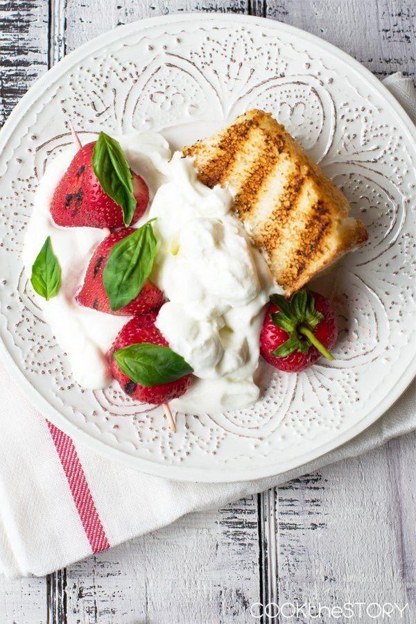 Grilled-Strawberry-Shortcake