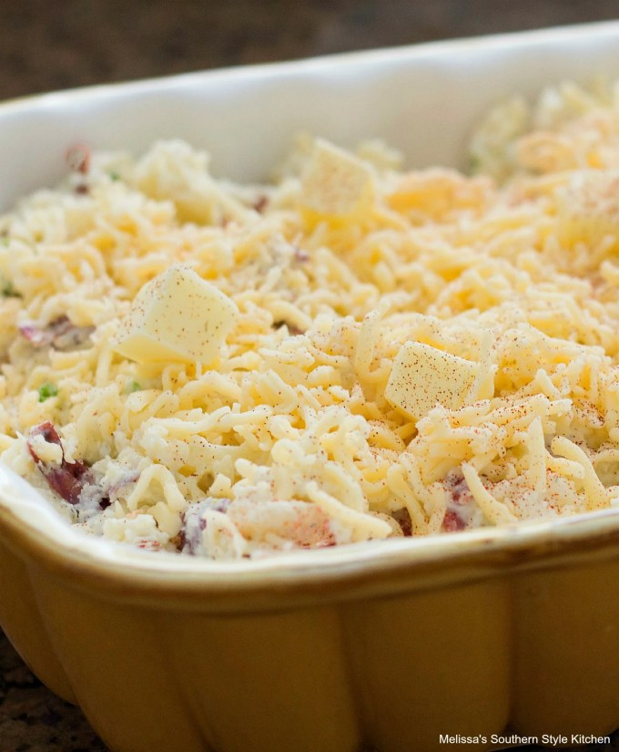 Sour Cream And Onion Smashed Potato Casserole