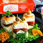 Monster Meatball Sliders