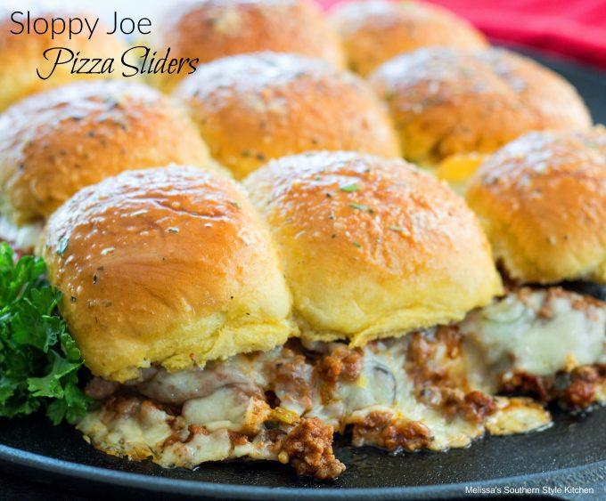 Sloppy Joe Pizza Sliders