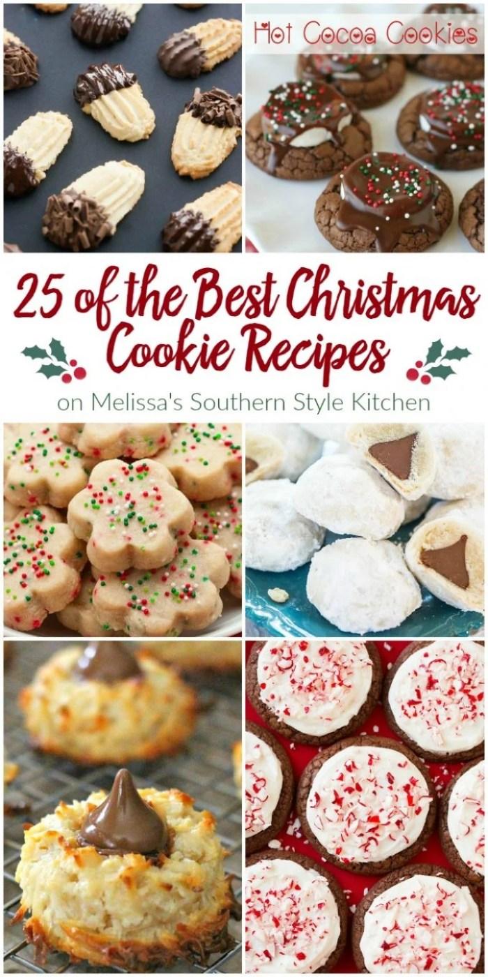 25 Christmas Cookie Recipes HERO