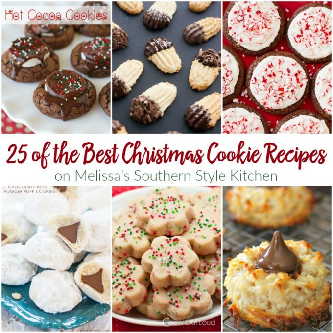 Best Christmas Cookie Recipes.25 Of The Best Christmas Cookie Recipes When The Christmas