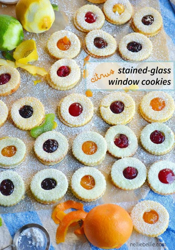 Citrus Stained-Glass Window Cookies