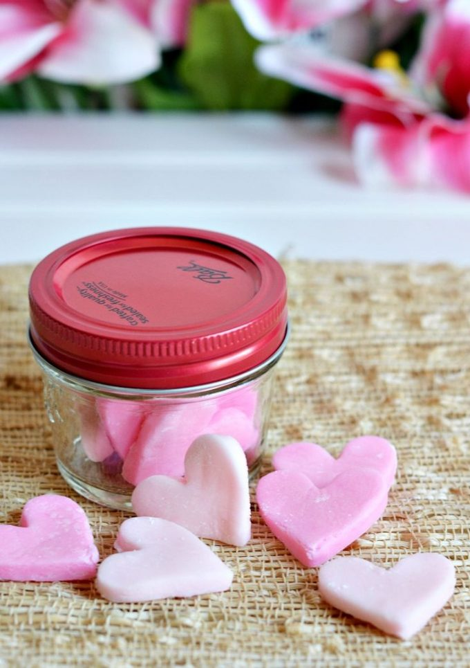 Cream Cheese Heart Mints