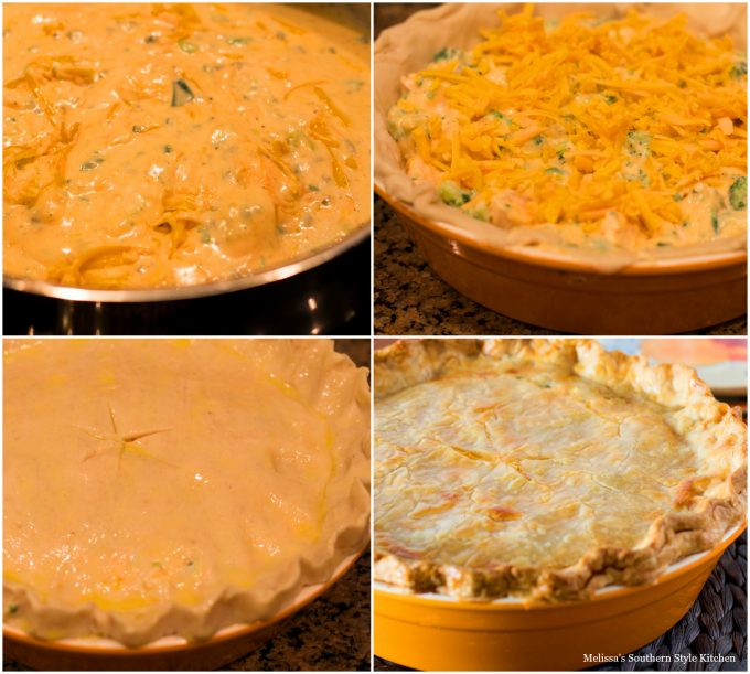 Broccoli Cheddar Chicken Pot Pie Melissassouthernstylekitchen Com