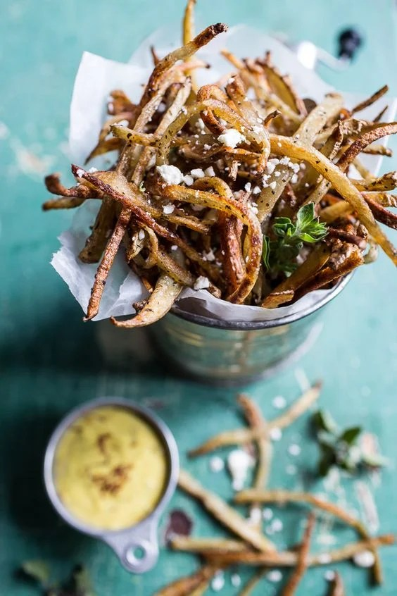 Skinny Greek Feta Fries
