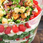 BLT Penne Pasta Layer Salad